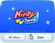 Kirby TV Channel box