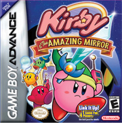 Kirby & The Amazing Mirror box