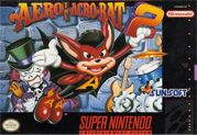 Aero the Acrobat 2 box