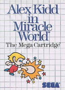 Alex Kidd in Miracle World box